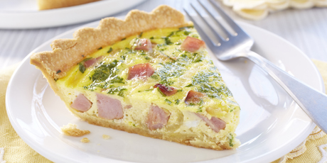 Deep dish ham quiche recipes food network canada deep dish ham quiche print recipe forumfinder