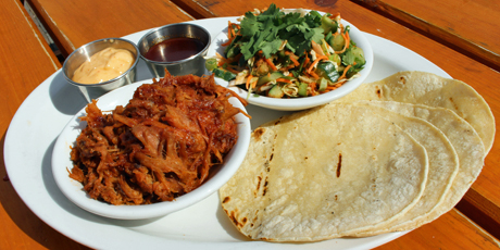 Dusty's Korean Pulled Pork Tacos