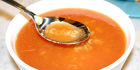 Easy alphabet soup recipes food network canada easy alphabet soup forumfinder Images