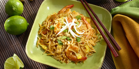Easy pad thai recipes food network canada easy pad thai print recipe forumfinder Image collections
