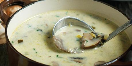 Mixed-Mushroom And Tarragon Gravy Recipes — Dishmaps