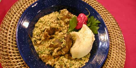 Egusi Soup And Pounded Yam Recipes Food Network Canada