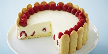 Elegant raspberry lemon torte recipes food network canada forumfinder Gallery