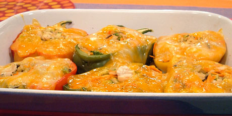 Fast stuffed peppers recipes food network canada fast stuffed peppers forumfinder Images