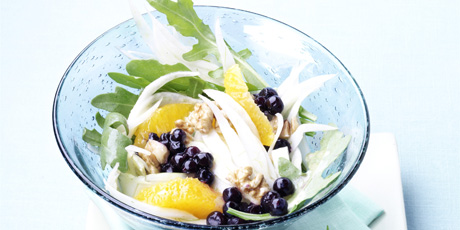 Fennel Salad with Wild Blueberries
