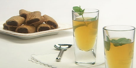 Fig Olsons with Moroccan Mint Tea
