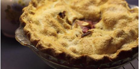 Five-Spice Cran-Apple Pie Recipes | Food Network Canada