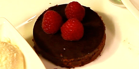 Flourless Chocolate Chile Torte