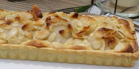 comfort pear almond frangipane pie tart southern comfort pear almond ...