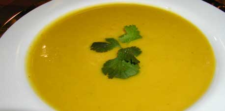 Fresh and Spicy Squash Soup