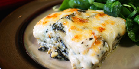 Gluten free spinach lasagna recipes food network canada Food network recipes