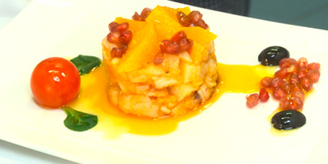 Granadian Cod & Orange Salad With Black Olives