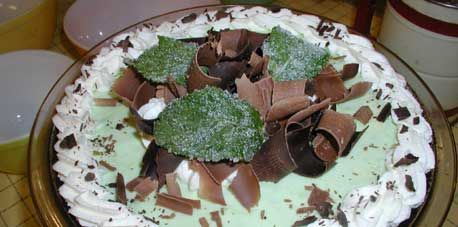 Grasshopper pie nigella - photo#18