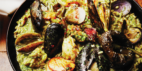 Green Paella