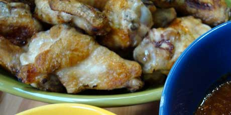 Michael's Grilled Chicken Wings