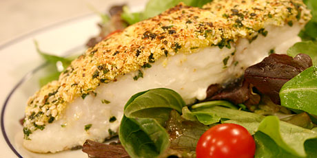 Crusted Halibut Recipes Food Network