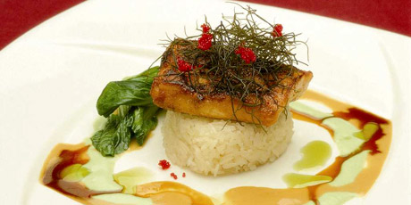 Hawaiian Style Misoyaki Butterfish With Kim Chee Lime Butter Sauce Recipes Food Network Canada