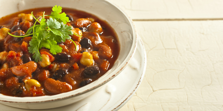 Hearty vegetarian chili recipes food network canada hearty vegetarian chili print recipe forumfinder