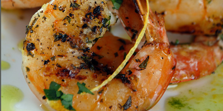 Herb and Garlic Grilled Shrimp Recipes | Food Network Canada