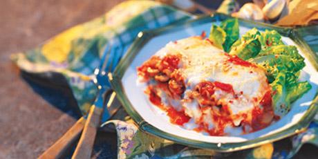 Homestyle Mushroom Lasagna Recipes | Food Network Canada