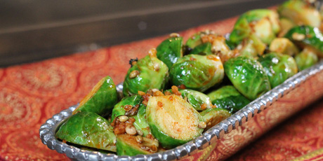 Indian Brussels Sprouts