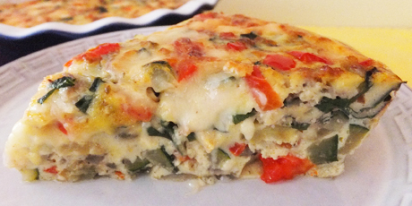 Italian vegetable frittata recipes food network canada italian vegetable frittata print recipe forumfinder