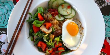 Korean vegetable bibimbop recipes food network canada korean vegetable bibimbop forumfinder Choice Image