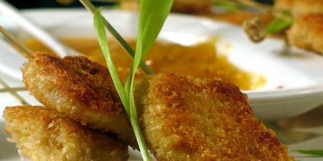 Lemon chicken lollipops recipes food network canada lemon chicken lollipops forumfinder Image collections