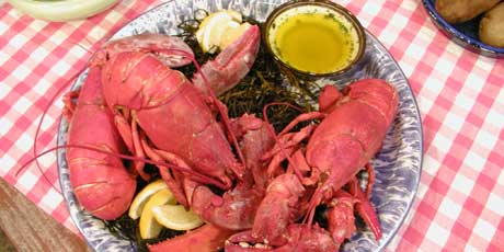 Lobster Boil with Lemon Butter Recipes | Food Network Canada