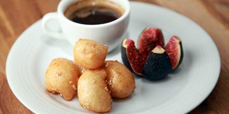 Loukoumades and Coffee