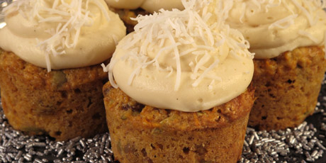 Low-fat Carrot Cupcakes