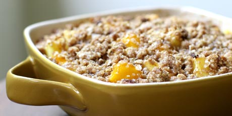 Mango Pineapple Crumble
