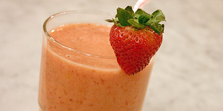 Marnie's Strawberry and Banana Smoothie