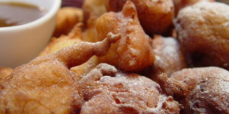 Michael Smith S Banana Fritters Recipes Food Network Canada