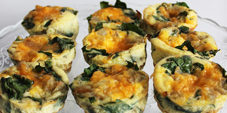 Mini spinach quiches recipes food network canada mini spinach quiches print recipe forumfinder Choice Image