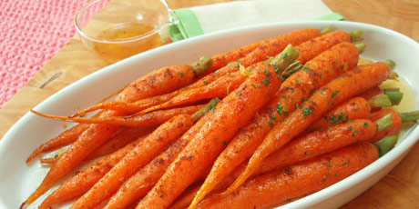 Moroccan Spiced Roast Carrots