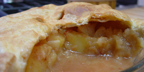 Old-Fashioned All-American Apple Pie Recipe — Dishmaps
