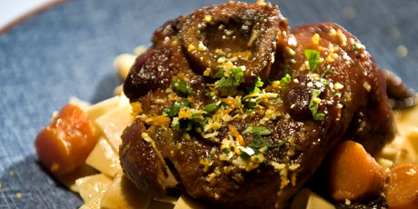 Osso Bucco with Orange and Prunes