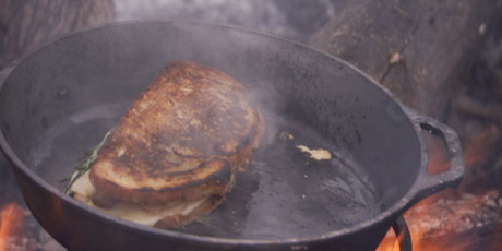 Partridge Grilled Cheese
