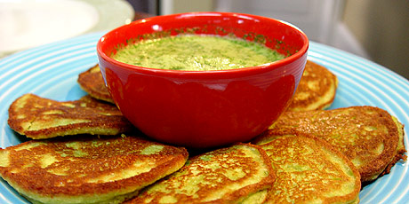 Pea pancakes recipes food network canada michael smith chef at home print recipe forumfinder Image collections