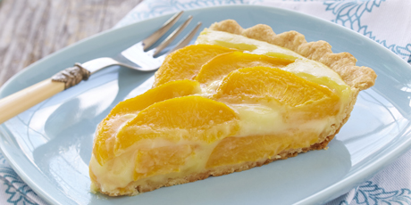Peach Cream Tart Recipes | Food Network Canada