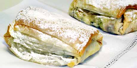 Phyllo Wrapped Bananas
