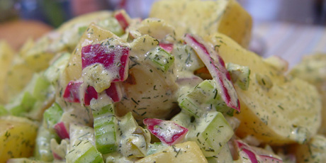 Potato Salad with Dill and Mustard