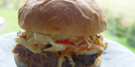 Pulled pork sandwiches recipes food network canada pulled pork sandwiches forumfinder Image collections