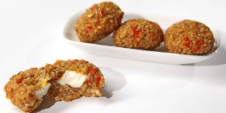Quinoa cumin bites recipes food network canada quinoa cumin bites recipe to riches forumfinder Images