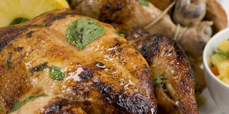 Rotisserie chicken marinaded in orange pineapple basil recipes rotisserie chicken marinaded in orange pineapple basil forumfinder Image collections