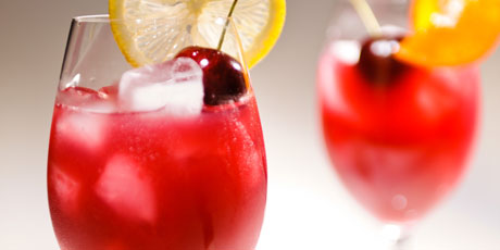 Sangria with White Grape Juice