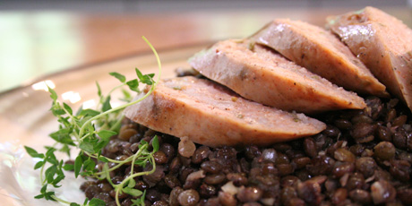 Sausage and lentils recipes food network canada sausage and lentils forumfinder Images