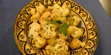 Sauteed Cauliflower with Black Mustard Seeds Recipes | Food Network ...