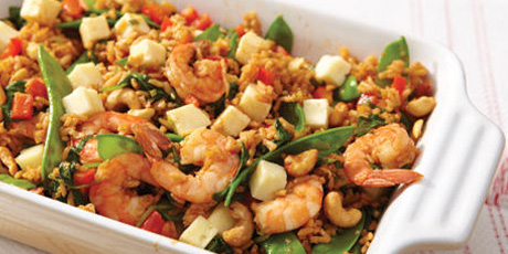 Shrimp fried rice with havarti recipes food network canada forumfinder Choice Image
